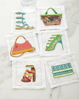 Kim Seybert Fiesta Cocktail Napkins, Set of 6