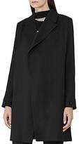 Reiss Caspian Drape Front Coat