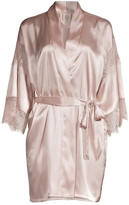 In Bloom Picture Perfect Satin Wrap