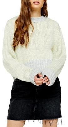 Topshop Twist Deep Sweater