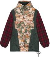 Gucci Nylon jacket with feline print
