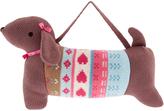 Monsoon Mr Sausage Dog Knitted Bag