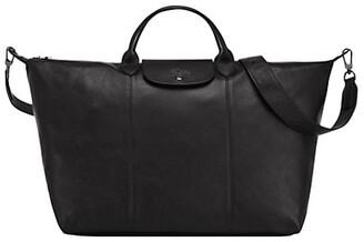 Le Pliage Leather Travel Bag
