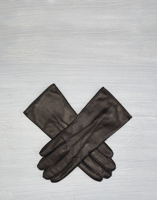 Belstaff EMYVALE LEATHER GLOVES Black
