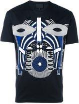 Les Hommes tribal print T-shirt
