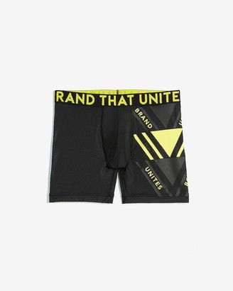 Express Graphic Performance Boxer Briefs