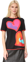 Moschino Short Sleeve Printed Blouse