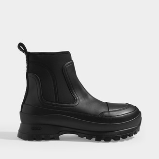 Stella McCartney Ankle Boots In Black Eco-Leather