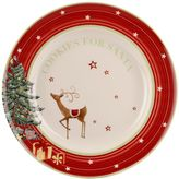 "Spode Christmas Jubilee ""Cookies for Santa"" 4-pc. Plate Set"