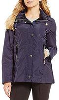 Antonio Melani Velvet Trim Windbreaker Jacket