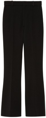 Gucci Wool flare trousers