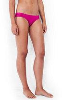 Lands' End Women's Soft Side Bikini Bottoms-Bright Azalea Pink