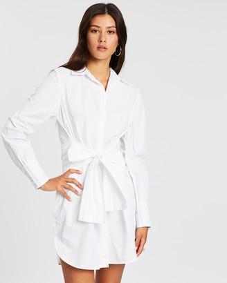 Ivyrevel Belted Shirt Dress