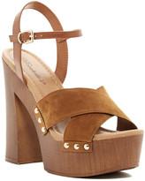 Breckelle's Breckelle&s Blake Crisscross Chunky Platform Sandal