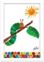 Eric Carle Caterpillar Crawl Shadow Box Wall Art