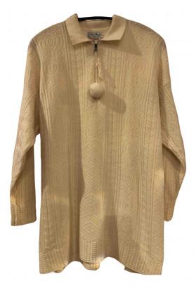 Benetton Ecru Wool Knitwear