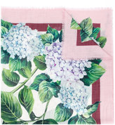 Dolce & Gabbana floral embroidered scarf