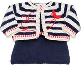 Handmade Cotton Tricot Top & Cardigan