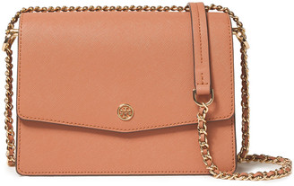 Tory Burch Robinson Convertible Textured-leather Shoulder Bag