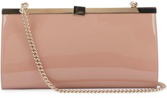 Christian Louboutin Palmete Patent Clutch Bag