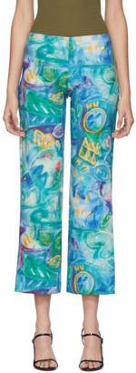 Collina Strada Blue Mariposa Trousers