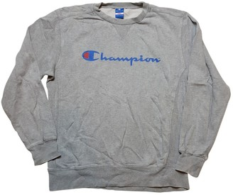 Champion Grey Cotton Knitwear for Women Vintage