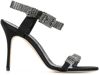 Manolo Blahnik Fabio 105mm sandals