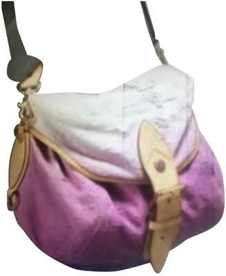 Louis Vuitton Sunburst Pink Denim - Jeans Handbags