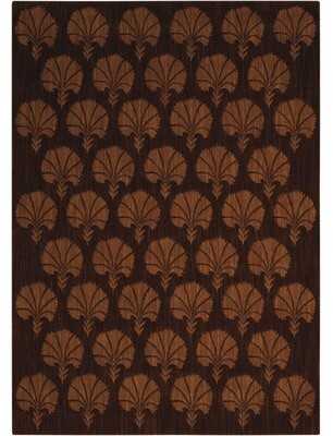 "Calvin Klein Metropolitan Wool Persia Bronze Area Rug Rug Size: Rectangle 9'6"" x 13'"
