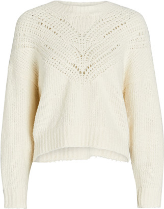 IRO Arresi Cable Knit Cotton Sweater