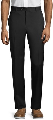 Saks Fifth Avenue Made In Italy Standard-Fit Wool Trousers