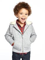 Old Navy Sherpa-Lined Fleece Hoodie for Toddler