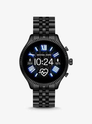 Michael Kors Lexington 2 Black-Tone Smartwatch