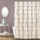 Lush Decor Large Ruffle Shower Curtain