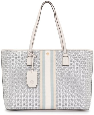 Tory Burch Gemini link top-zip tote