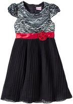 Nannette Rosette Dress - Toddler Girl