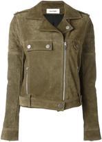 Courreges leather biker jacket