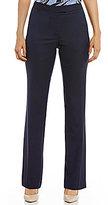 Jones New York Washable Suiting Sydney Classic Straight-Leg Pants