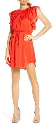 NSR Ruffled Mini Dress