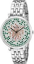 Fossil Women's ES3899 Analog Display Quartz Silver-Tone Watch