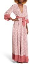Tularosa Women's Jolene Wrap Maxi Dress