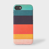 Paul Smith Artist Stripe Leather iPhone 7 Case