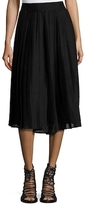 Lucca Couture Pleated Midi Skirt