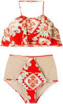Adriana Degreas printed bikini set