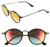 Ray-Ban 'Icons' 49mm Round Sunglasses