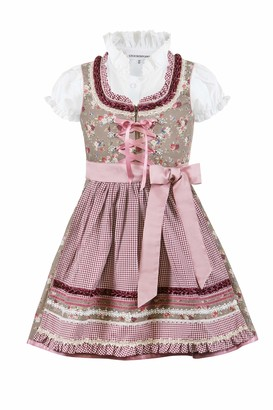 Stockerpoint Girl's Kinderdirndl Emma Special Occasion Dress