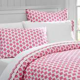 Pottery Barn Teen Poolside Palms Duvet Cover, Twin, Bright Pink