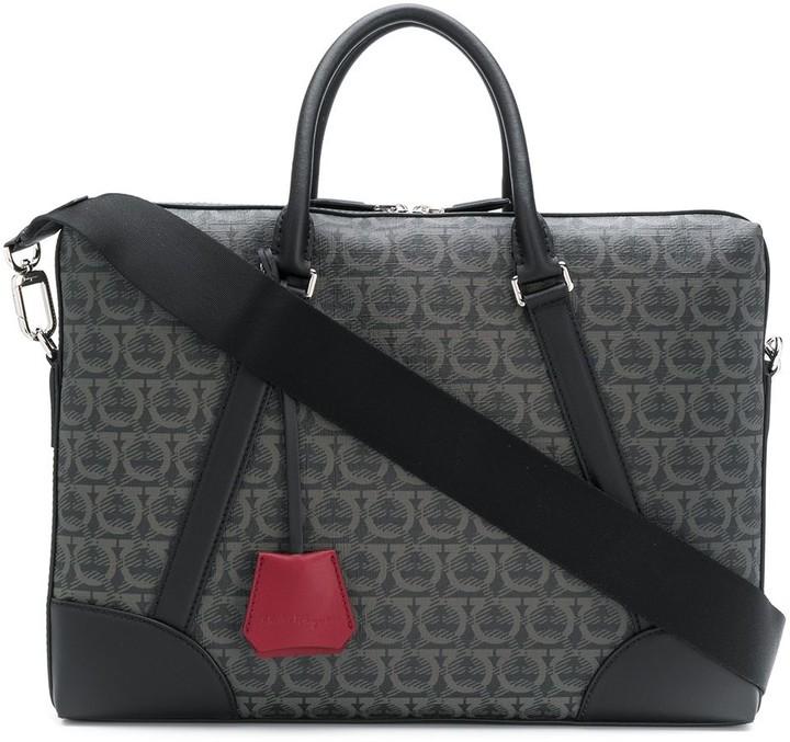 Salvatore Ferragamo Gancini laptop bag