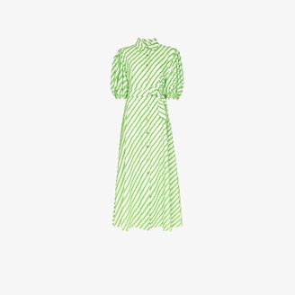 Evi Grintela Iris striped maxi dress