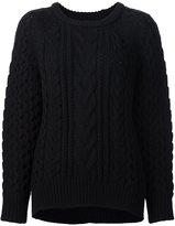Nili Lotan cable knit jumper
